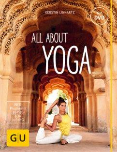 All about Yoga, m. DVD - Linnartz, Kerstin
