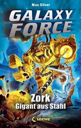 Buch-Reihe Galaxy Force von Max Silver