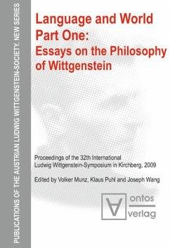 Essays on the philosophy of Wittgenstein - Munz, Volker;Puhl, Klaus;Wang, Joseph
