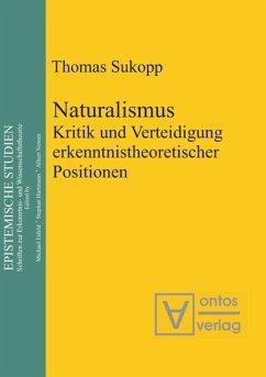 Naturalismus - Sukopp, Thomas