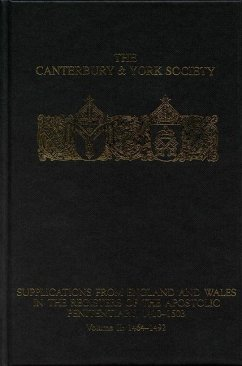 Supplications from England and Wales in the Registers of the Apostolic Penitentiary, 1410-1503: Volume II: 1464-1492