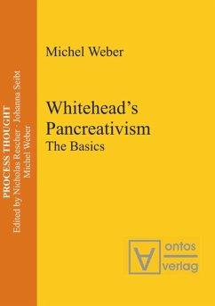 Whitehead's Pancreativism - Weber, Michel