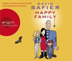 Happy Family, 5 Audio-CDs - Safier, David