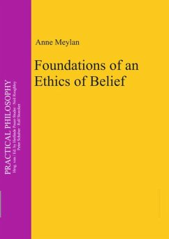 Foundations of an Ethics of Belief - Meylan, Anne