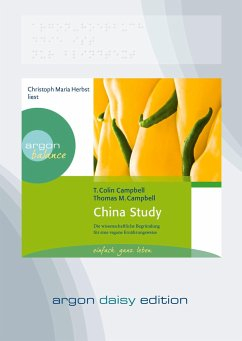 China Study, 1 MP3-CD (DAISY Edition) - Campbell, Colin T.; Campbell, Thomas M.