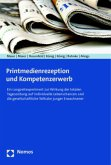 Printmedienrezeption und Kompetenzerwerb