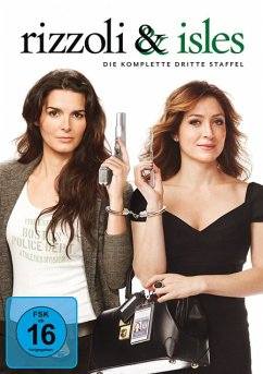 Rizzoli & Isles - Die komplette dritte Staffel - Angie Harmon,Sasha Alexander,Jordan Bridges