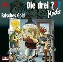 Falsches Gold / Die drei Fragezeichen-Kids Bd.34 (1 Audio-CD) - Blanck, Ulf