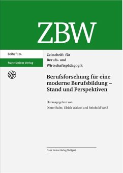 Berufsforschung für eine moderne Berufsbildung - Stand und Perspektiven (eBook, PDF)