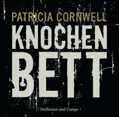 Knochenbett / Kay Scarpetta Bd.20 (Audio-CD) - Cornwell, Patricia