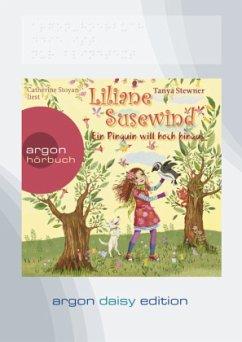 Ein Pinguin will hoch hinaus / Liliane Susewind Bd.9 (1 MP3-CD, DAISY Edition) - Stewner, Tanya