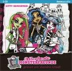 Allerbeste Monsterfreunde / Monster High ab 9 Bd.1 (2 Audio-CDs)