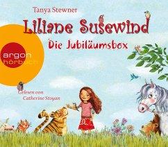 Liliane Susewind - Die Jubiläumsbox, 8 Audio-CDs - Stewner, Tanya