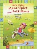 Mein großes Memo-Spiel- und Puzzlebuch. Lieblingstiere