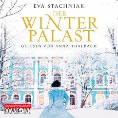Der Winterpalast, 6 Audio-CDs - Stachniak, Eva