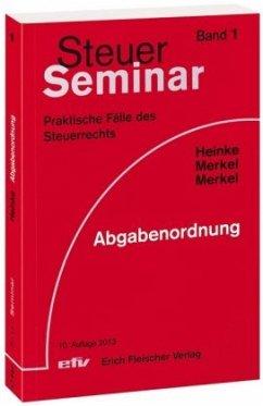 Steuer-Seminar Abgabenordnung