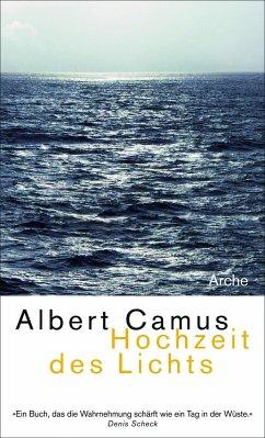 Hochzeit des Lichts Neu - Camus, Albert