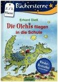 Die Olchis fliegen in die Schule / Die Olchis - Sonne, Mond und Sterne Bd.2