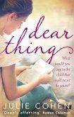 Dear Thing (eBook, ePUB)