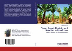 Tense, Aspect, Modality and Negation in Kinyakyusa