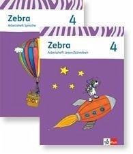 zebra paket arbeitsheft sprache und arbeitsheft lesen