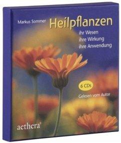 Heilpflanzen, 6 Audio-CDs - Sommer, Markus