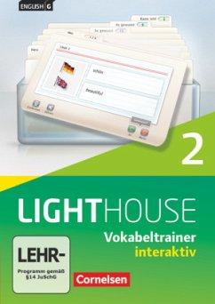 English G Lighthouse - Allgemeine Ausgabe: 6. Schuljahr, Vokabeltrainer interaktiv - CD-ROM