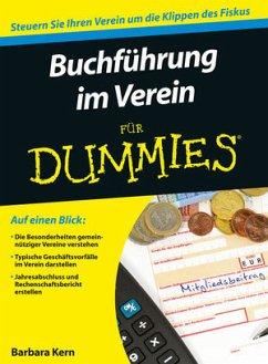 Buchführung im Verein für Dummies - Kern, Barbara