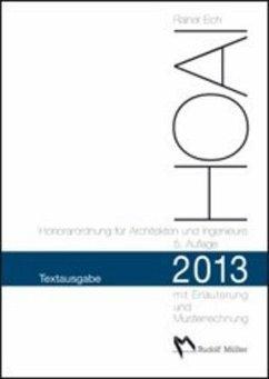 HOAI 2013 - Honorarordnung für Architekten und ...
