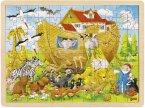 Einlegepuzzle Einzug in die Arche Noah (Holzpuzzle)