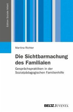 Die Sichtbarmachung des Familialen (eBook, PDF) - Richter, Martina
