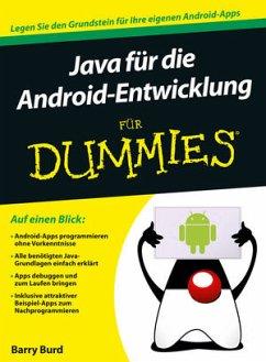 Java für die Android-Entwicklung für Dummies - Burd, Barry