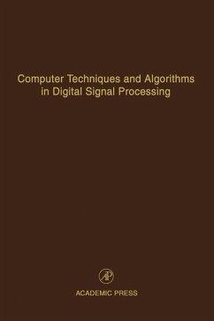 Computer Techniques and Algorithms in Digital Signal Processing (eBook, ePUB)