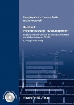 Handbuch Projektsteuerung - Baumanagement, m. CD-ROM