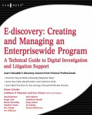 E-discovery: Creating and Managing an Enterprisewide Program (eBook, ePUB)