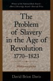 The Problem of Slavery in the Age of Revolution, 1770-1823 (eBook, ePUB)