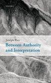 Between Authority and Interpretation (eBook, ePUB)