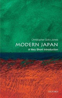 Modern Japan: A Very Short Introduction (eBook, ePUB) - Goto-Jones, Christopher