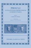 Procli In Platonis Parmenidem Commentaria III (eBook, PDF)