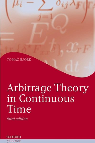tomas bjork arbitrage theory in continuous time pdf