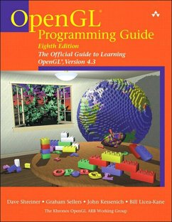 OpenGL Programming Guide (eBook, ePUB) - Shreiner, Dave; Sellers, Graham; Kessenich, John; Licea-Kane, Bill