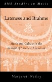 Lateness and Brahms (eBook, PDF)