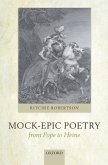 Mock-Epic Poetry from Pope to Heine (eBook, ePUB)