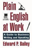 Plain English at Work (eBook, PDF)