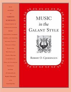 Music in the Galant Style (eBook, PDF) - Gjerdingen, Robert