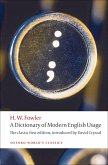 A Dictionary of Modern English Usage (eBook, ePUB)
