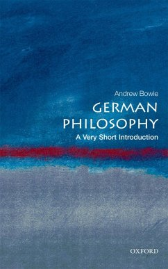 German Philosophy: A Very Short Introduction (eBook, ePUB) - Bowie, Andrew