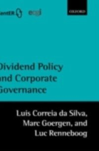 Dividend Policy and Corporate Governance (eBook, PDF) von