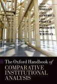 Oxford Handbook of Comparative Institutional Analysis (eBook, ePUB)