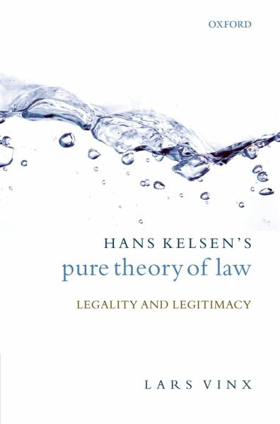 kelsen s pure theory of law Buy pure theory of law by hans kelsen (isbn: 9781584775782) from amazon's   the author of more than forty books on law and legal philosophy, he is best.